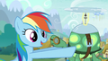 "Rainbow ""That means Ponyville is next up for winter!"" S5E5.png"