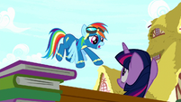 "Rainbow Dash ""second place!"" S8E18"
