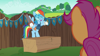 Rainbow Dash --might as well get there first-- S6E14