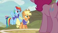 Rainbow Dash --we were treating you like us-- S6E18