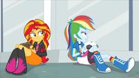 Rainbow Dash -she's not coming- EG2