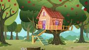 Rainbow Dash Fan Club Treehouse S2E8