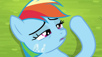 Rainbow Dash gains consciousness S4E22
