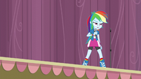 Rainbow annoyed at Pinkie's outburst EG3