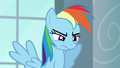 Rainbow looking annoyed S5E15.png