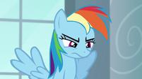 Rainbow looking annoyed S5E15