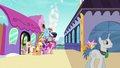 Rarity's friends come out of the train S5E14.png