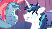 Shining Armor feeling a little assured S6E1