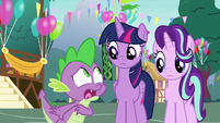 Spike -they'll hate each other!- S7E15