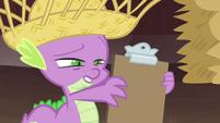 """Spike reading """"Apple Jewel"""" S4E13"""