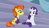 Stormy Flare sits down with Rarity S5E15