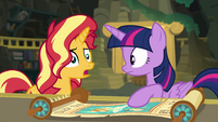 """Sunset Shimmer """"someone is using it"""" EGFF"""