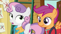 Sweetie Belle --something one of us wants to do-- S6E4