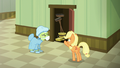"""Applejack """"you were supposed to stay there!"""" S6E23.png"""