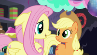 "Fluttershy ""What matters is how hard you tried"" S5E11"