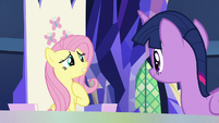 "Fluttershy ""do I need to prepare myself?"" S7E14"
