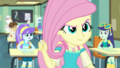Fluttershy snaps off the end of her chalk piece EGDS10.png