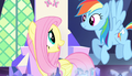 Fluttershy talks with Rainbow Dash S5E01.png