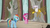 Gilda -typical pony hero complex- S5E8