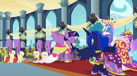 My Little Pony, La Magia de la Amistad - Mirad, a la Princesa Twilight