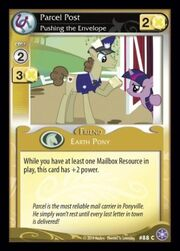 Parcel Post, Pushing the Envelope card MLP CCG