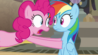 "Pinkie Pie ""I changed my mind!"" S7E18"