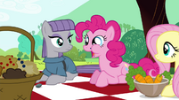 "Pinkie Pie ""They are crunchy!"" S4E18"
