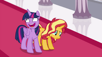 Princess Twilight laughing awkwardly EGFF