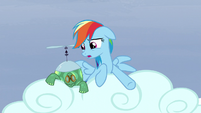 Rainbow -they go three hoof steps forward!- S5E5