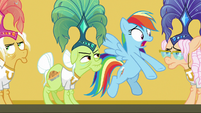 "Rainbow Dash ""you were trapped!"" S8E5"