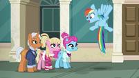 Rainbow Dash --it's a race!-- S6E9