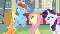 Rainbow Dash suggests following Sandbar S8E2