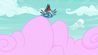 Rainbow falls toward cotton candy S6E7