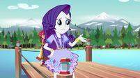 "Rarity ""they're missing our dress rehearsal"" EG4"