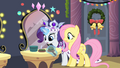 Rarity and Fluttershy surprised S2E11.png