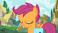 Scootaloo with a pen in her mouth S01E18.png