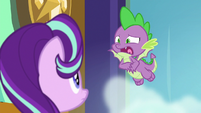 Spike -he puts that many E's in 'really'- S8E15