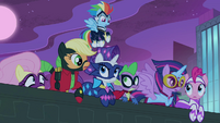 Spike and Power Ponies confused S4E06