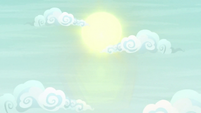 Sun shining in Silverstream's dream S9E3