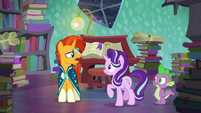 Sunburst --I-I can't even come close to doing something like that!-- S6E2