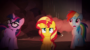 Sunset, Twilight, and Rainbow in Equestria EGSB
