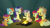 "Sweetie Belle ""either one of you two'd gone evil"" S7E16"