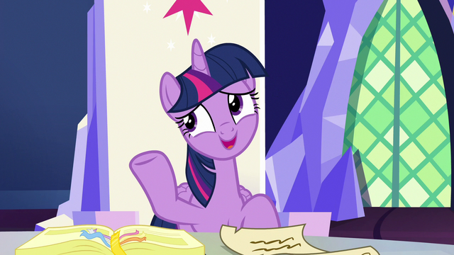 "File:Twilight Sparkle ""that's not an official position"" S7E11.png"