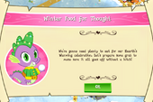 Winter Food For Thought intro MLP game