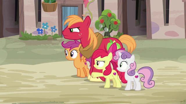 File:Big Mac and Apple Bloom don't like Feather Bangs S7E8.png