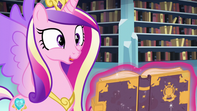 """File:Cadance """"I can't believe we found it!"""" S6E2.png"""