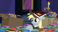 Derpy the mailmare with straightened eyes S6E25