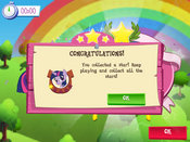 Earning a star MLP Game