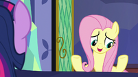 "Fluttershy ""book on ancient Equestrian healers"" S7E20"