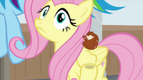 Fluttershy hears the P.A. system again BGES3